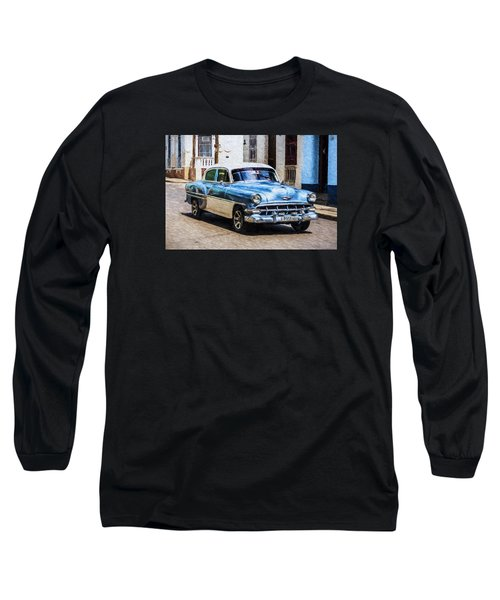 1954 Chevy Cuba Long Sleeve T-Shirt