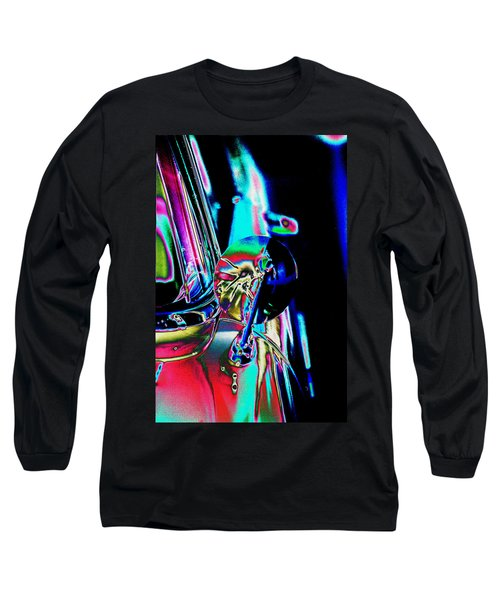 1954 Ford Side Mirror Long Sleeve T-Shirt