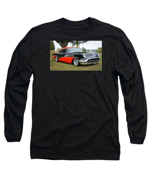 1956 Buick Riviera Long Sleeve T-Shirt by Ronda Broatch