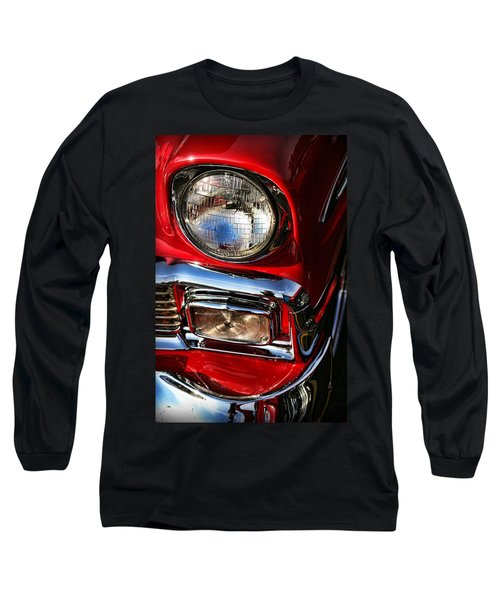 1956 Chevrolet Bel Air Long Sleeve T-Shirt by Gordon Dean II