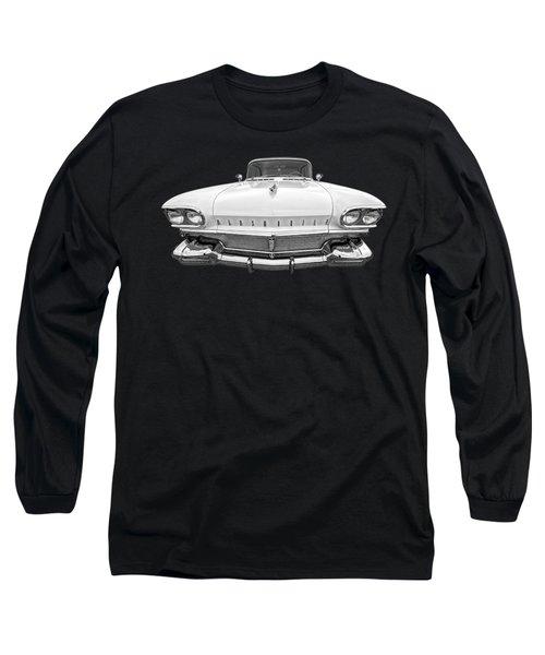 1958 Oldsmobile Rocket 88 Head On Long Sleeve T-Shirt