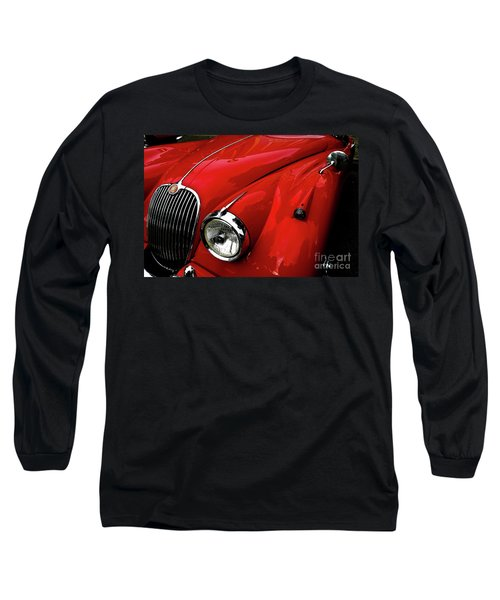 Red Jaguar Long Sleeve T-Shirt