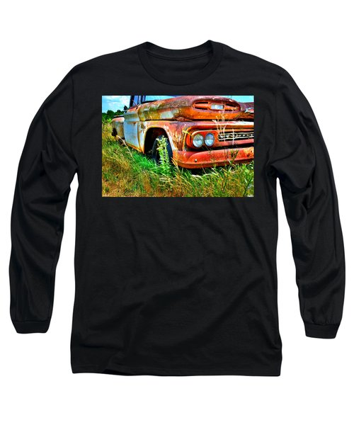 1961 Chevrolet Apache 10 5 Long Sleeve T-Shirt