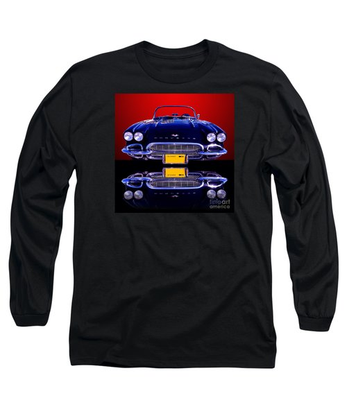 1961 Chevy Corvette Long Sleeve T-Shirt