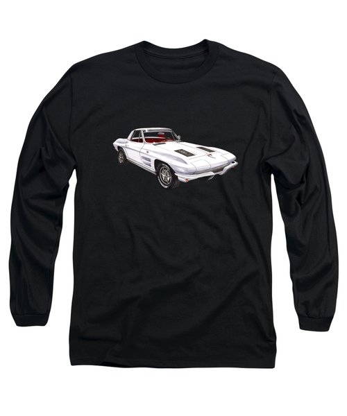 Corvette Sting Ray 1963 Long Sleeve T-Shirt