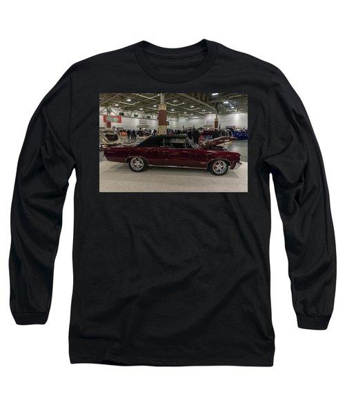 1964 Pontiac Gto Long Sleeve T-Shirt by Randy Scherkenbach