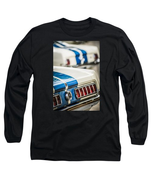 Long Sleeve T-Shirt featuring the photograph 1965 Ford Shelby Mustang Gt 350 Taillight -1037c by Jill Reger