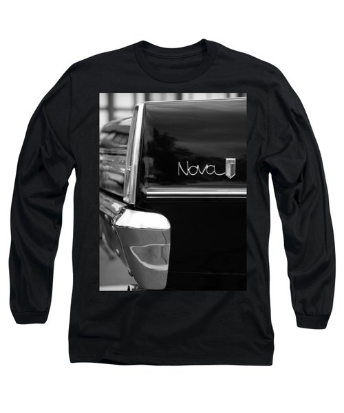 1966 Chevy Nova II Long Sleeve T-Shirt by Gordon Dean II