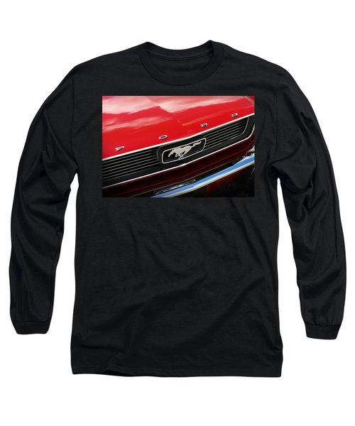 1966 Ford Mustang Long Sleeve T-Shirt