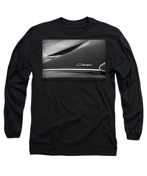 1968 Dodge Charger Long Sleeve T-Shirt by Gordon Dean II