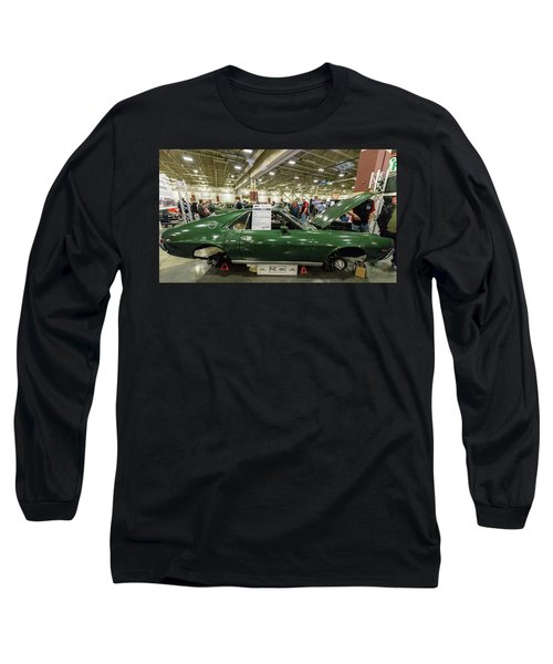 Long Sleeve T-Shirt featuring the photograph 1969 Amc Amx by Randy Scherkenbach