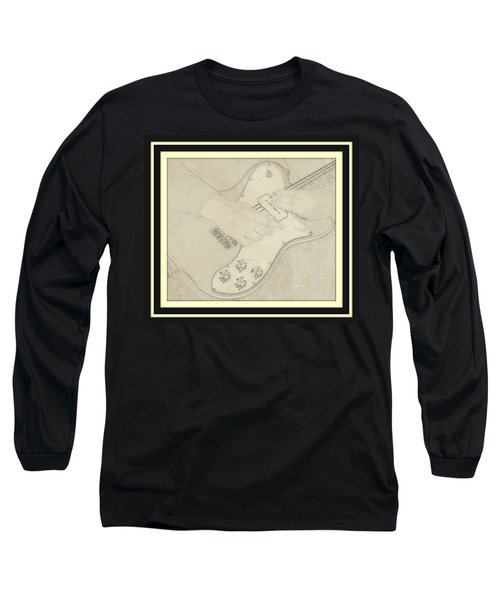 Long Sleeve T-Shirt featuring the photograph 1972 Fender Telecaster Custom by Chris Berry