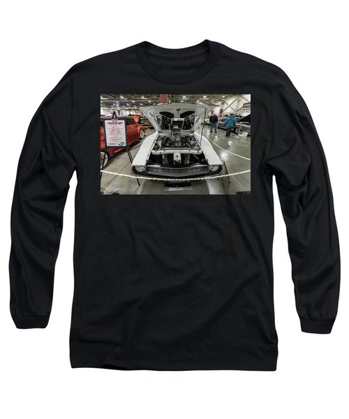 Long Sleeve T-Shirt featuring the photograph 1972 Javelin Sst 2 by Randy Scherkenbach