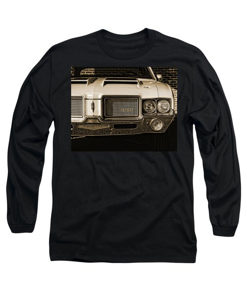 1972 Olds 442 - Sepia Long Sleeve T-Shirt