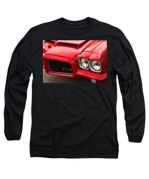 Long Sleeve T-Shirt featuring the photograph 1972 Pontiac Gto by Gordon Dean II