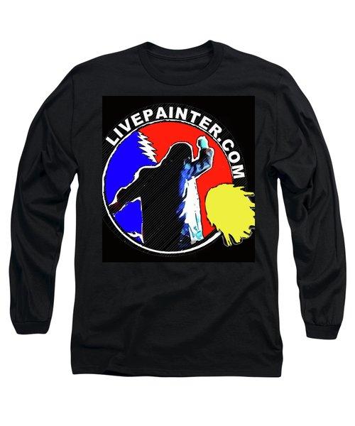 1st Live Painter Logo Long Sleeve T-Shirt