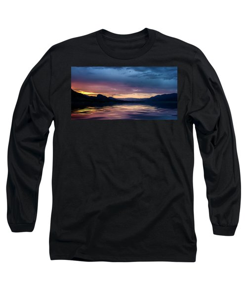 Across The Clouds I See My Shadow Fly Long Sleeve T-Shirt