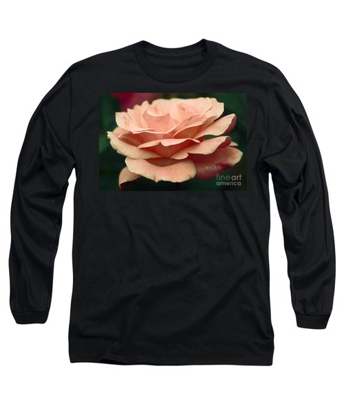 Antique Rose Long Sleeve T-Shirt by Donna Bentley