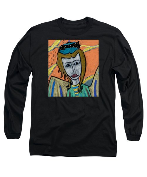 Archangel Uriel Long Sleeve T-Shirt by Clarity Artists