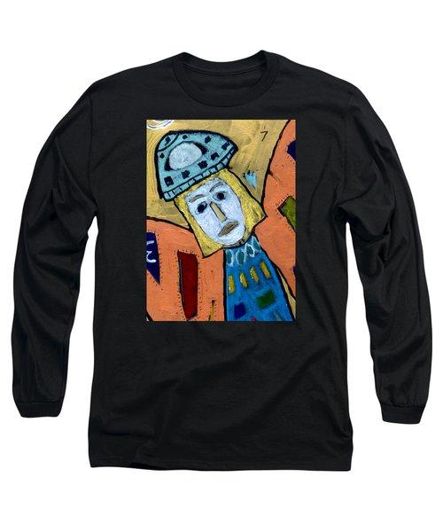 Archangel Zadkiel Long Sleeve T-Shirt
