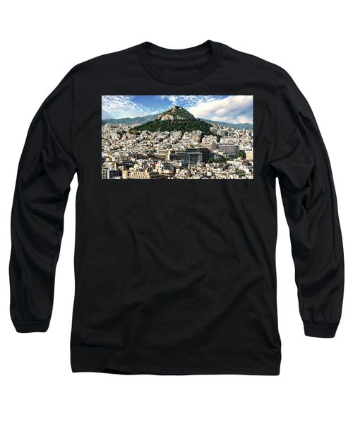 Athens Panorama Long Sleeve T-Shirt