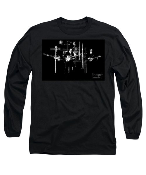 Beatles In Concert 1964 Long Sleeve T-Shirt