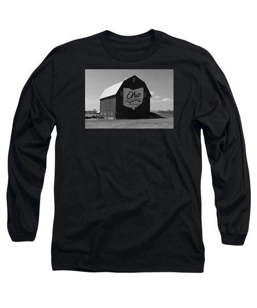 Bicentennial Barn Long Sleeve T-Shirt by Michiale Schneider