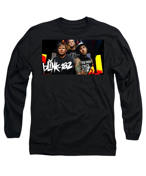 Blink 182 Collection Long Sleeve T-Shirt by Marvin Blaine