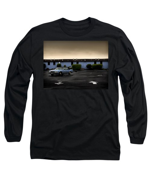 Blue Motel Long Sleeve T-Shirt