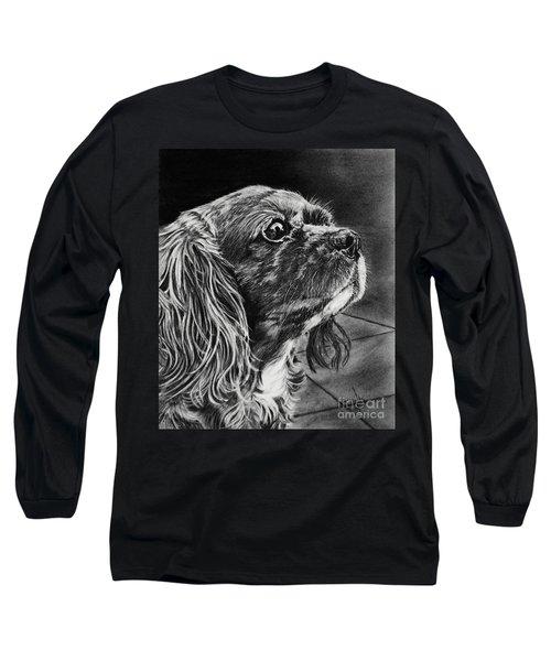 Cavalier II Long Sleeve T-Shirt by Terri Mills