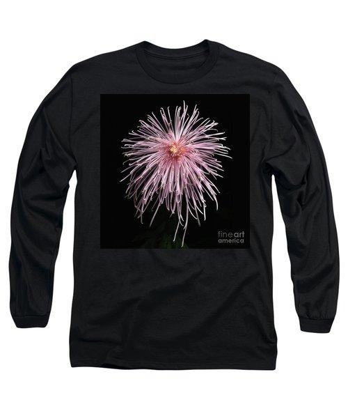 Chrysanthemum 'pink Splendor' Long Sleeve T-Shirt