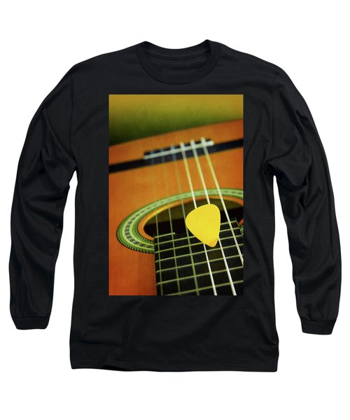 Long Sleeve T-Shirt featuring the photograph Classic Guitar  by Carlos Caetano