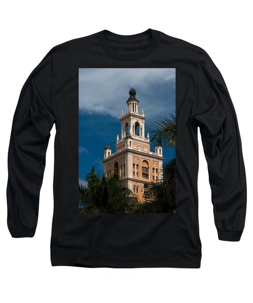 Coral Gables Biltmore Hotel Tower Long Sleeve T-Shirt