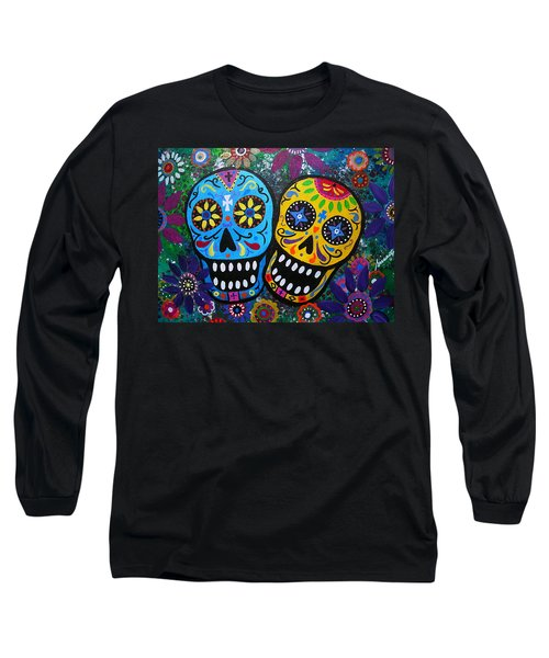 Couple Day Of The Dead Long Sleeve T-Shirt