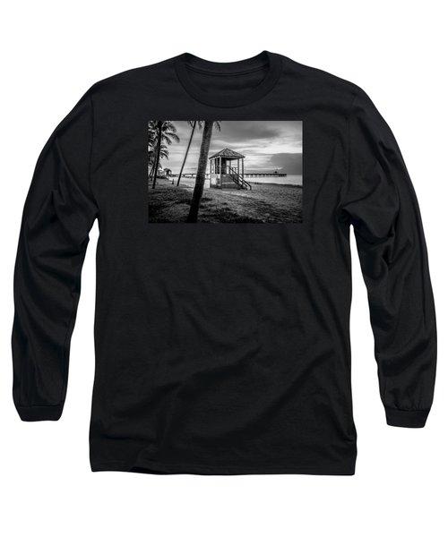 Deerfield Beach  Long Sleeve T-Shirt by Louis Ferreira