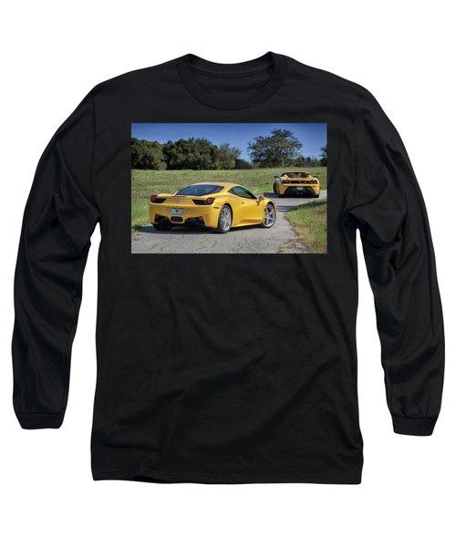 #ferrari #458italia #print Long Sleeve T-Shirt