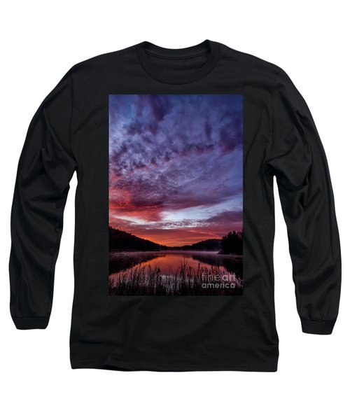 First Light On The Lake Long Sleeve T-Shirt