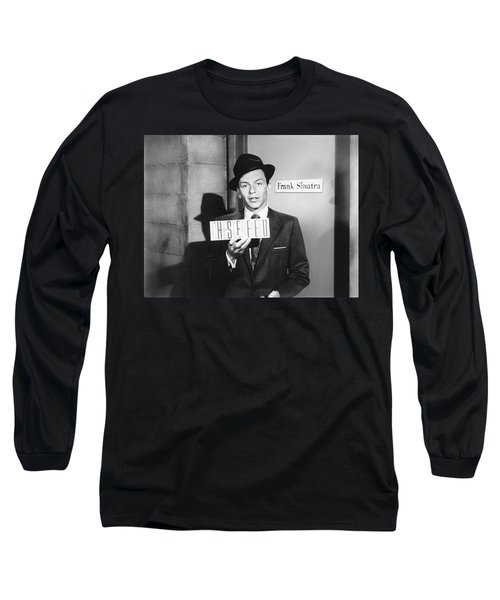 Frank Sinatra Long Sleeve T-Shirt by Underwood Archives