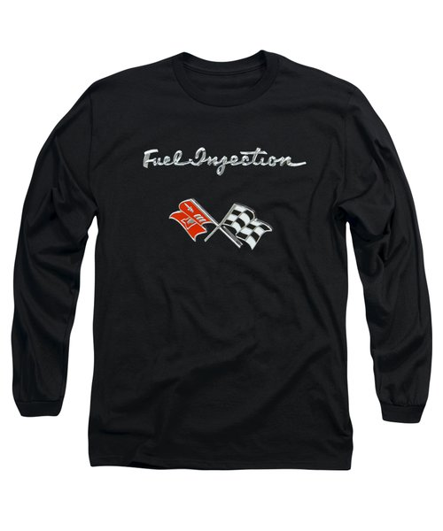 Fuel Injection Long Sleeve T-Shirt by Dennis Hedberg