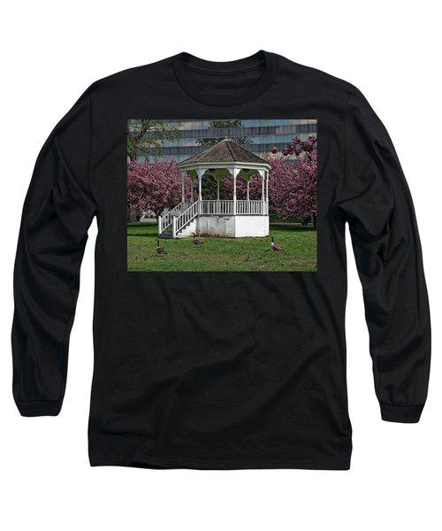 Gazebo In The Park Long Sleeve T-Shirt