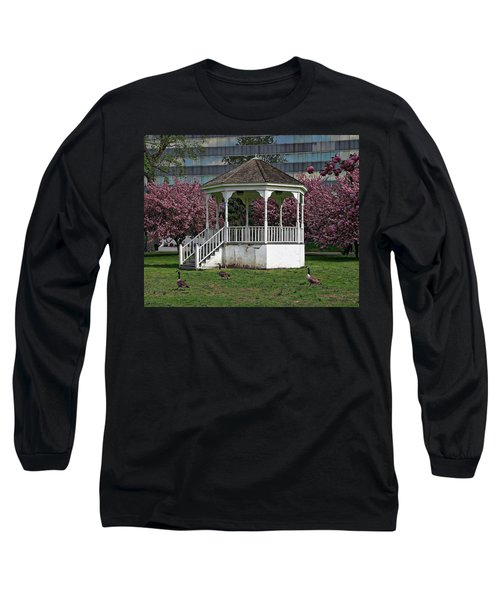 Gazebo In The Park Long Sleeve T-Shirt