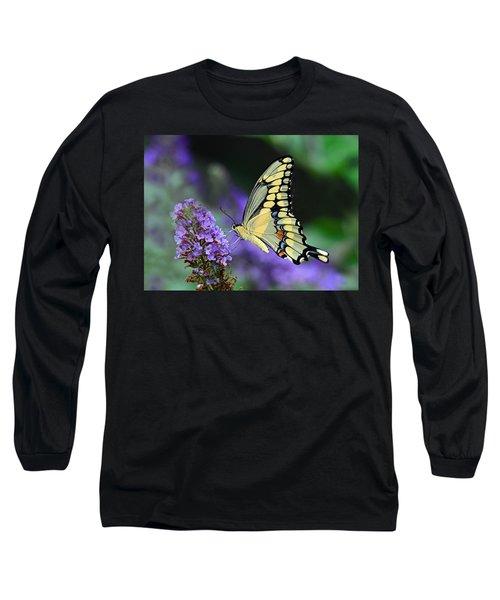 Giant Swallowtail Long Sleeve T-Shirt