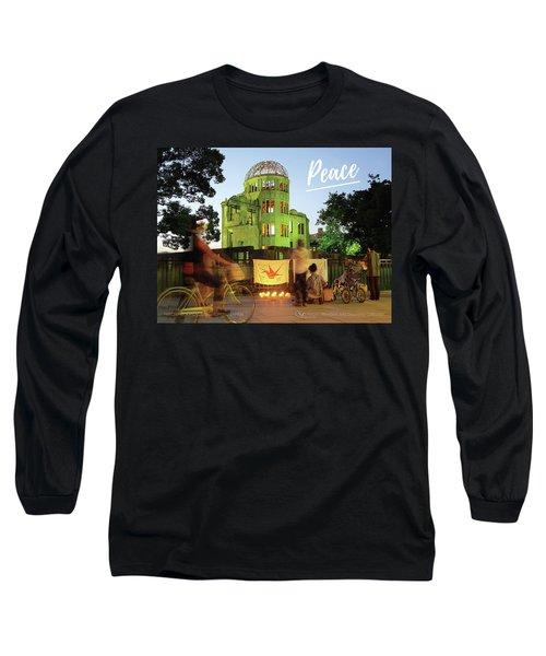 Hiroshima Peace Memorial, Japan Long Sleeve T-Shirt