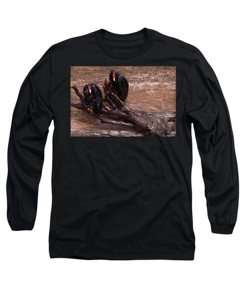 2 Hulking Vultures Long Sleeve T-Shirt