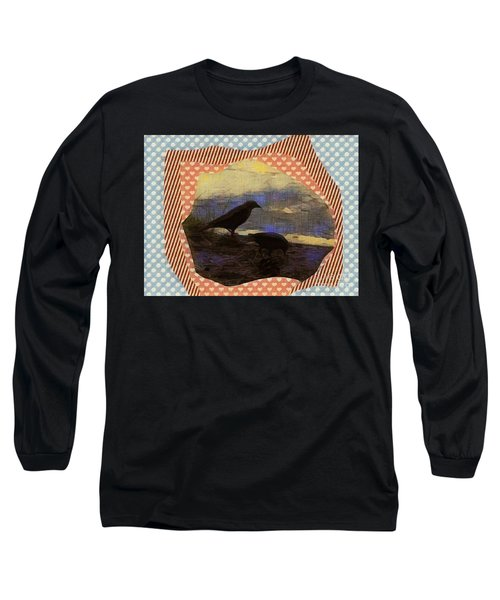 In The Shadows Long Sleeve T-Shirt by Kathie Chicoine