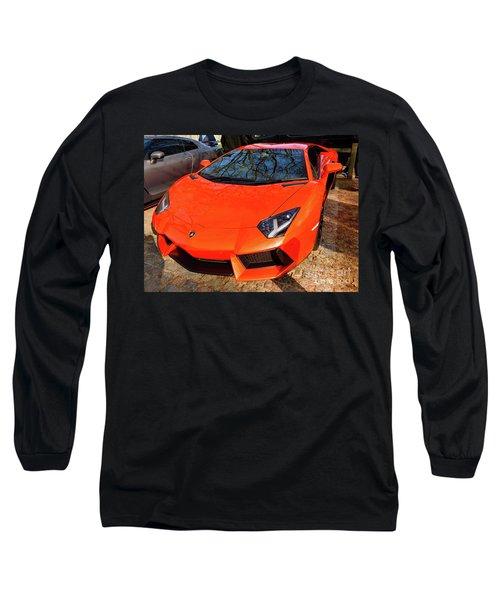 Lamborghini Aventador Long Sleeve T-Shirt