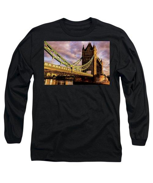 London Tower Bridge. Long Sleeve T-Shirt