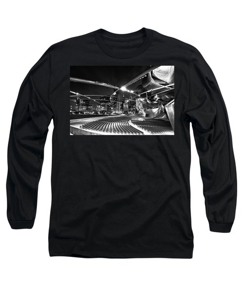 Millennium Park Long Sleeve T-Shirt by Sebastian Musial