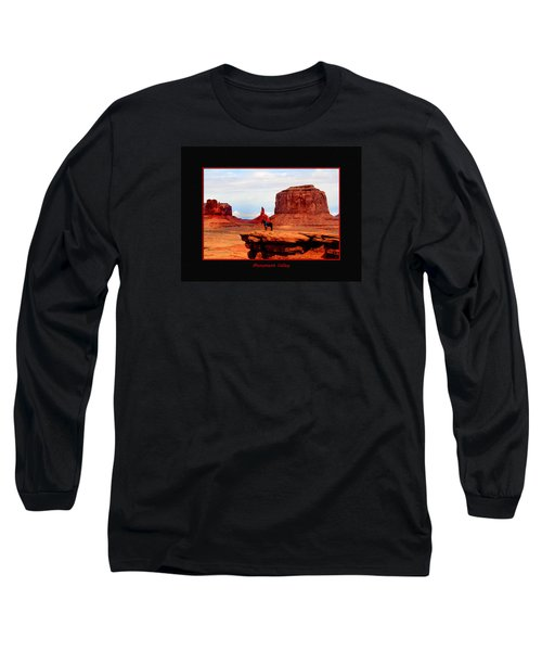 Long Sleeve T-Shirt featuring the photograph Monument Valley II by Tom Prendergast