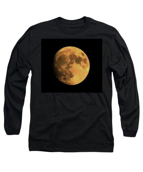Moon Long Sleeve T-Shirt by Rowana Ray